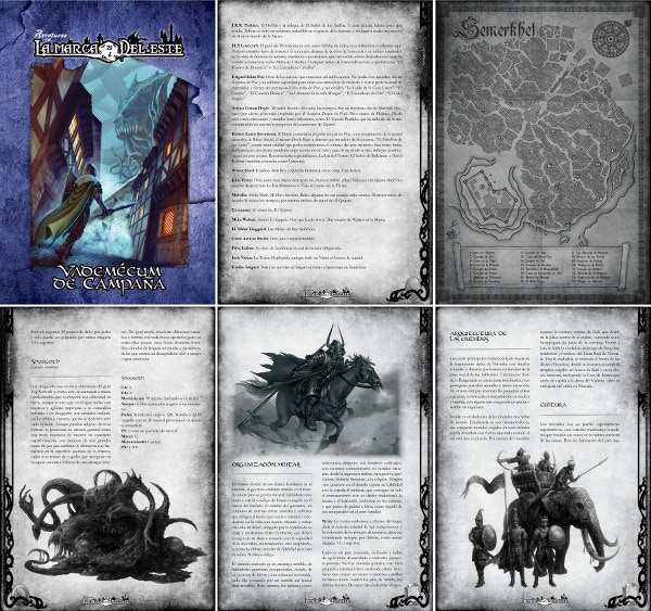 Cover and sample pages of the 248-page Blue Book (originally in B/W). Click for HI-RES.