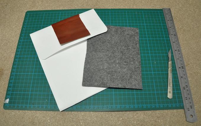 Paper mock-up