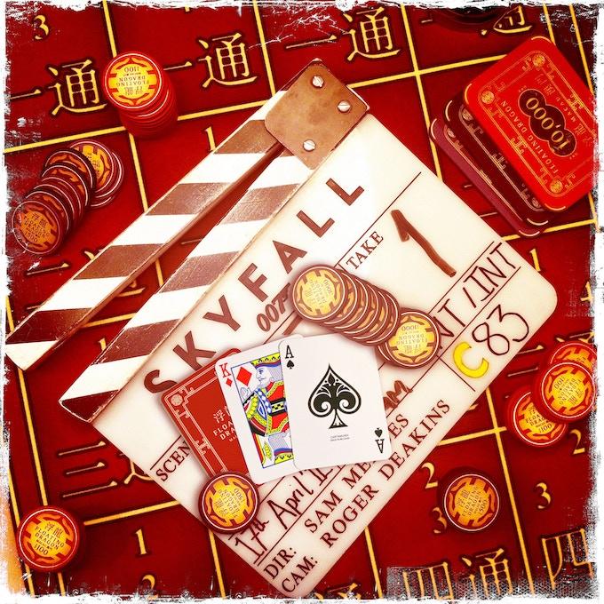 Example of Cartamundi's work: Skyfall playing cards, exclusively printed by Cartamundi