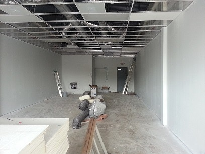 Our new bakery, under construction