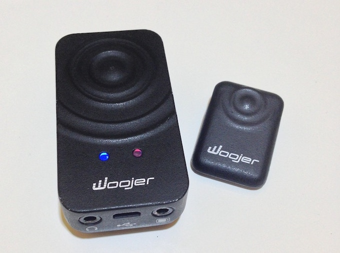 Woojer and Chest Magnet