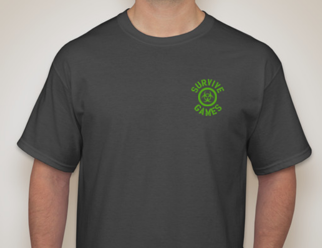 Front of Tee Shirt