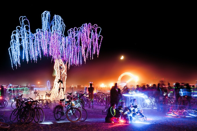 Aurora at Burning Man (Photo by Camaelon)