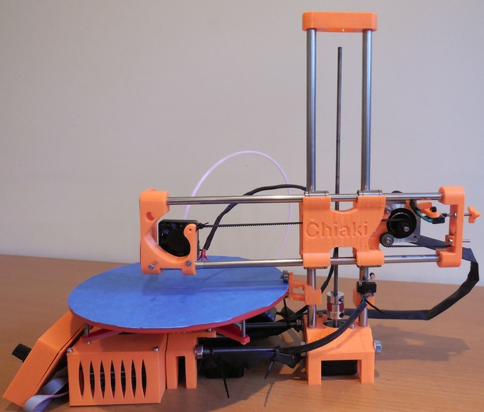 This is our 3D printer, R-360!