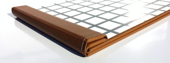clipbook magnetic clipboard by jimmy john design llc kickstarter. Black Bedroom Furniture Sets. Home Design Ideas