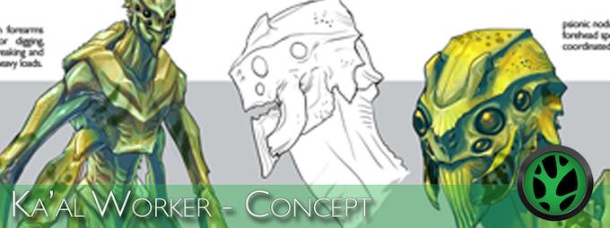 Concept Preview - Ka'al Worker