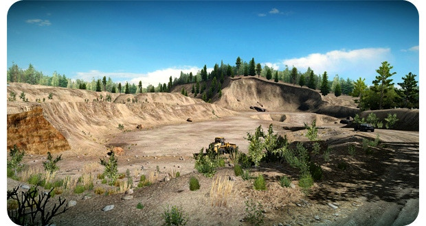 Sandpit environment - in-game!