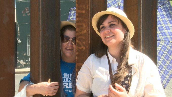 After nearly seven years of separation, Renata saw her mother through the Arizona-Mexico border fence in June 2013.