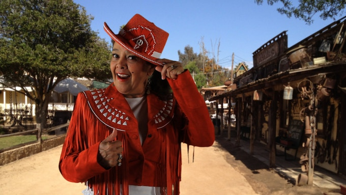 Ok folks, grab your chaps and lasso and join Lady Arlene and the kids at Rawhide Ranch, an amazing filming location and western camp for young people in Bonsall, California.