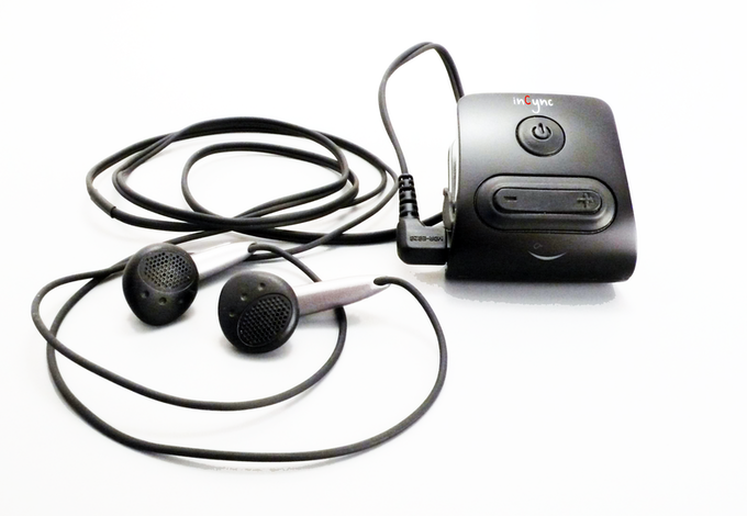 inCync turns the most basic earbuds into a full communication device.