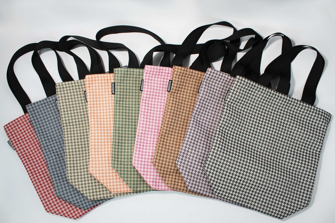Tote Bags in all nine colors