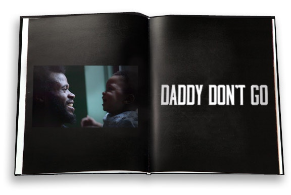 DADDY DON'T GO Art Book