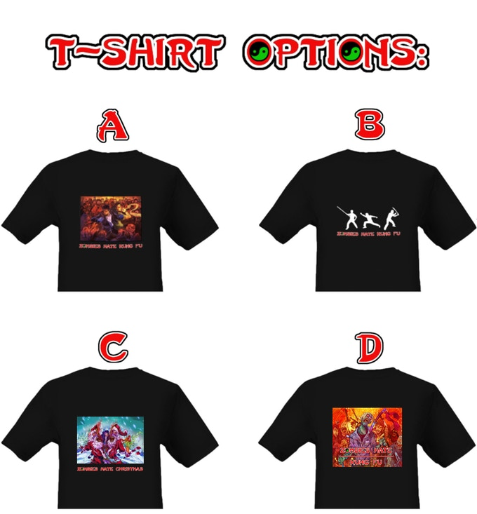 Option C: 'Zombies Hate Christmas' will be dispatched in time for Christmas day.