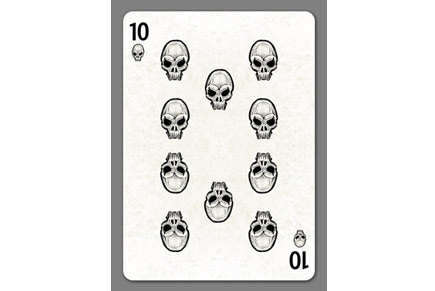 Bicycle Creepy Playing Cards by Collectable Playing Cards