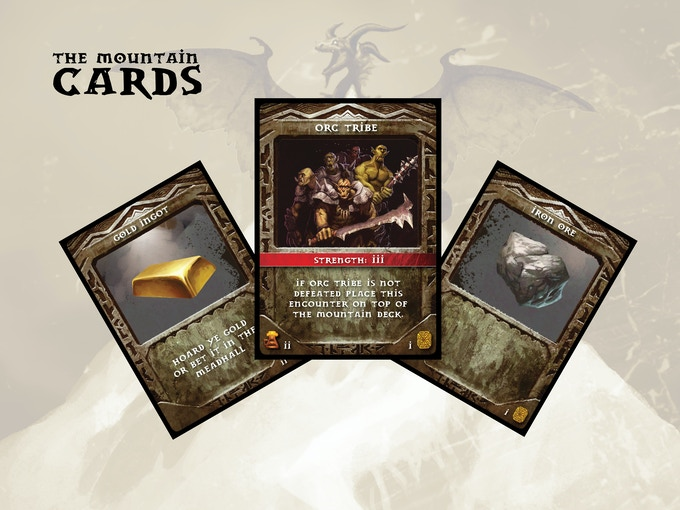 The Mountain Cards