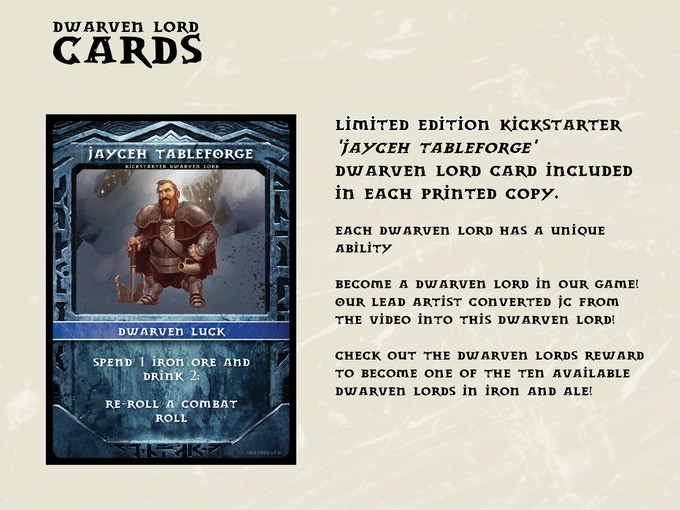 Become a Dwarven Lord!