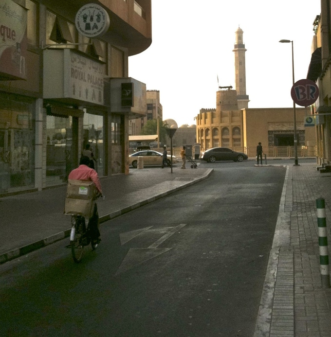 Backstreets of Bur Dubai, 2011.