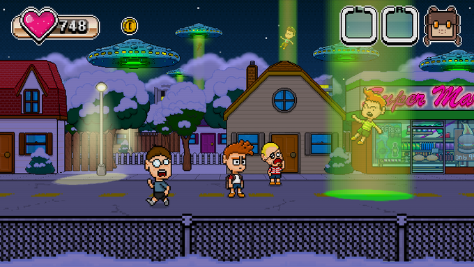 Some game worlds will collide with the real world making town life a little difficult.
