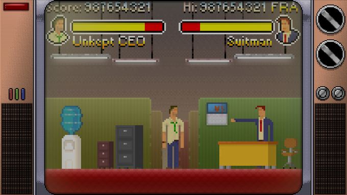 Experience the zany adventures of Suitman through a series of games.