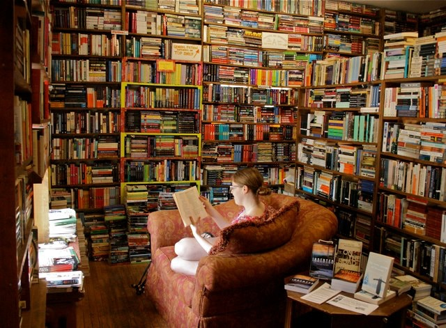 The old fiction room