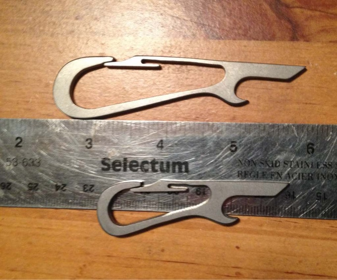 decapitator titanium bottle opener by steve kelly george palagonia kickstarter. Black Bedroom Furniture Sets. Home Design Ideas