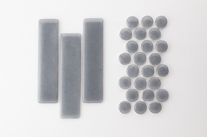"""CRT Glass 2x8 and 1"""" rounds"""