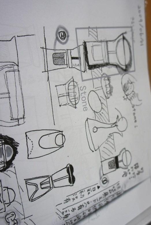 brainstorming sketch 1