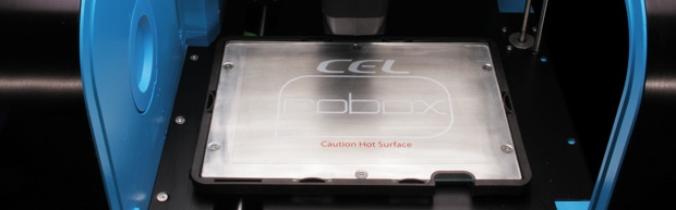 Heated Bed with Removable Print Surface - Certain models and materials benefit from different print surfaces. The small cutout section on the front right of the bed allows easy removal.