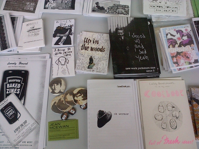 Limited edition zine, made by Jean Mc Ewan. A6 Landscape with contributions from all artists involved