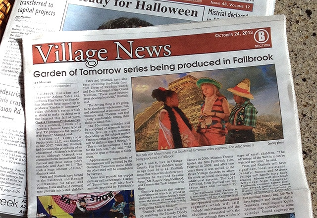 We are in the news! After one and a half years of hard work the press picks up our story.