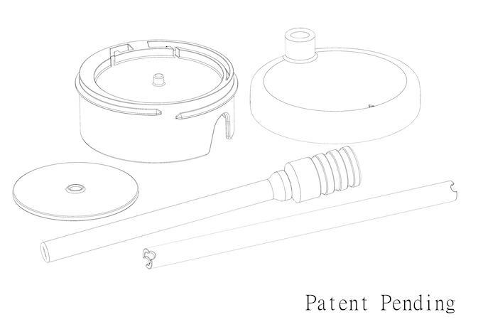 Sip & Spin™ Straw CAD