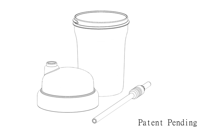 Snappy Straw™ Cup CAD