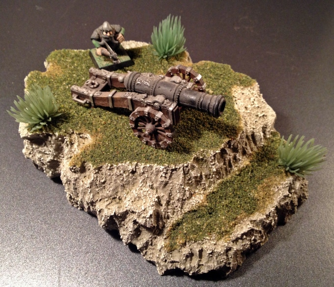 Temperate Grassy Cliff
