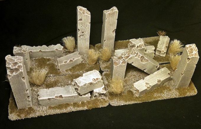 Ancient Ruins - Desert
