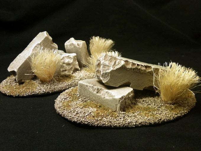 Small Desert Stone Ruins