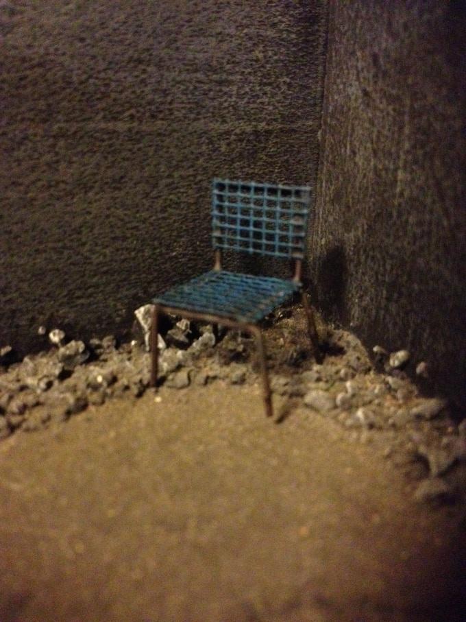 Apocalyptic Ruin: Mesh Chairs
