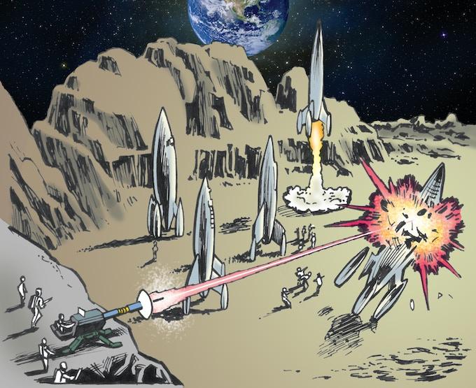 "Artwork for Card ""Tactical Landing"""