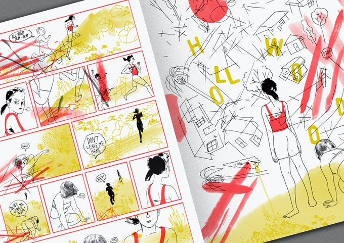 Angie Wang - 4 Page Section