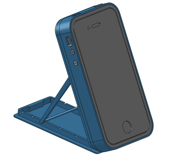 Profile position - CAD rendering of the first prototype