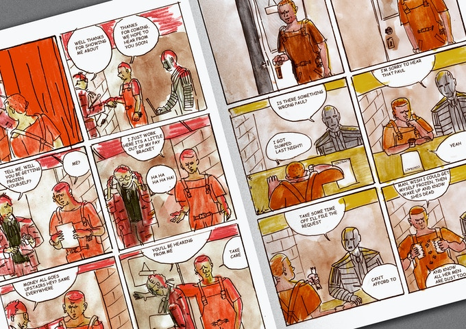 Stefan Sadler & Jonathan Chandler - 12 Page Section