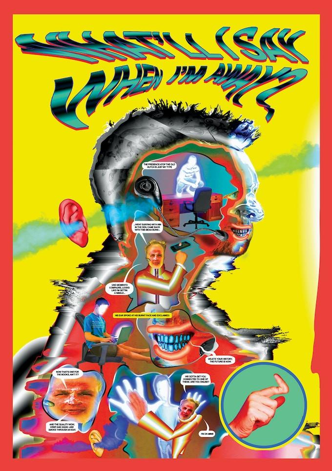 Ben Mendelewicz - A1 Poster - Fluorescent CMYK (Artwork may change slightly)
