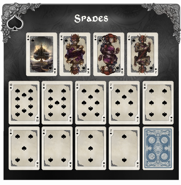See larger image of spade number cards in update #4