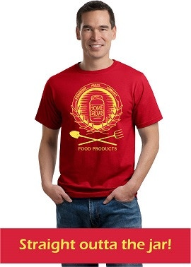 Get yourself some HGFP swag! T-shirts in Olive/Aqua, Red/Yellow, and Black/White!