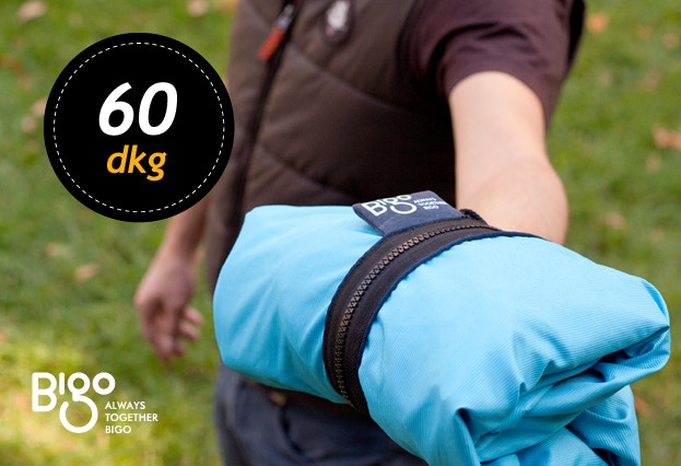 One great advantage of the Bigo Bag Five is that when empty it is very compact and weighs a mere 21 ounces.