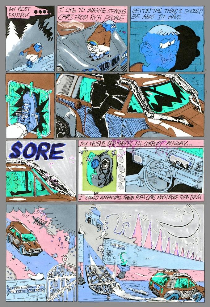Leon Sadler, 8 Page Section