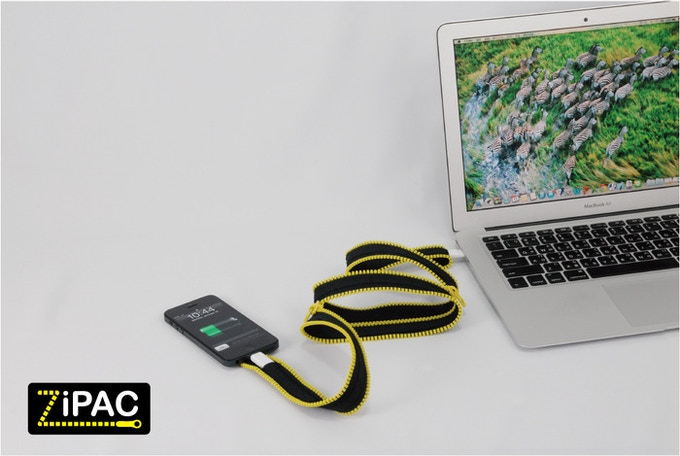 Cable and Case in One by Zip