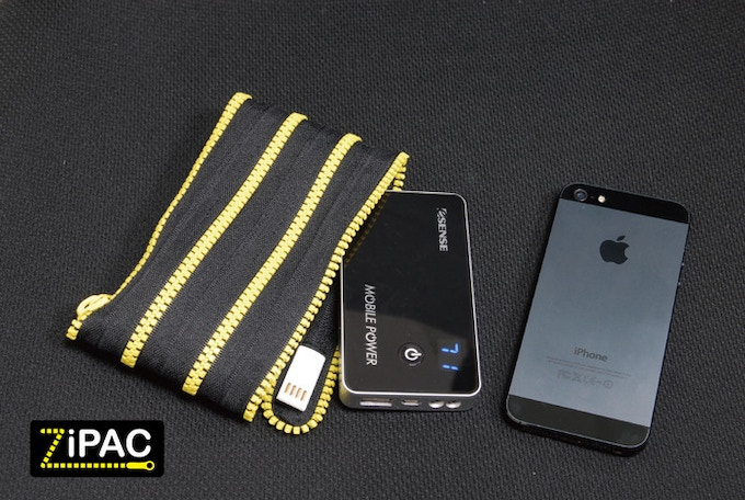 Power pack, Adapter, Mobile device and Cable all in one