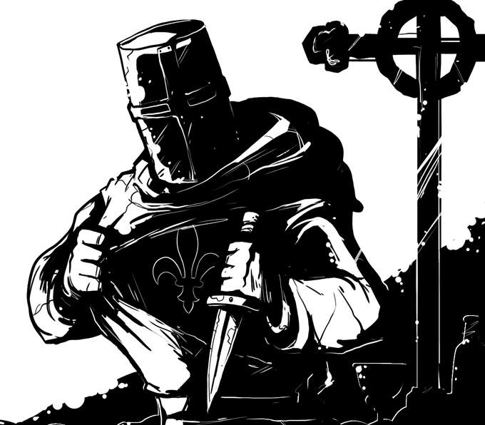The Templar Traitor is loyal to King Phillip, but knows who the Grandmaster is.