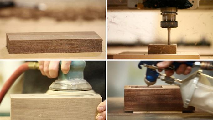 wood base prototype production