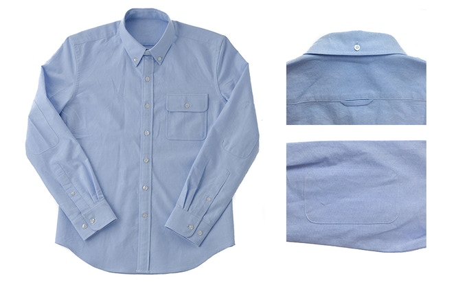 The Origin Oxford: 100% cotton oxford shirt